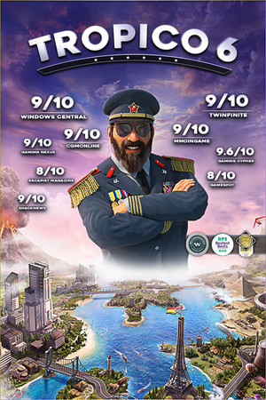 Tropico 6 poster image on Steam Backlog