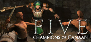 FIVE: Champions of Canaan cover art