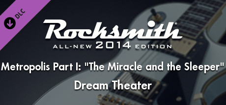 """Rocksmith® 2014 – Dream Theater – """"Metropolis Part I: """"The Miracle and the Sleeper"""""""""""