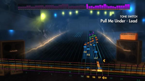 Скриншот №3 к Rocksmith® 2014 – Dream Theater Song Pack