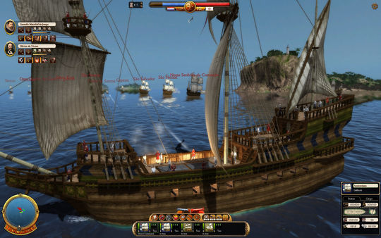 Commander: Conquest of the Americas - Colonial Navy (DLC)