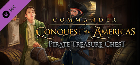 Купить Commander: Conquest of the Americas - Pirate Treasure Chest (DLC)