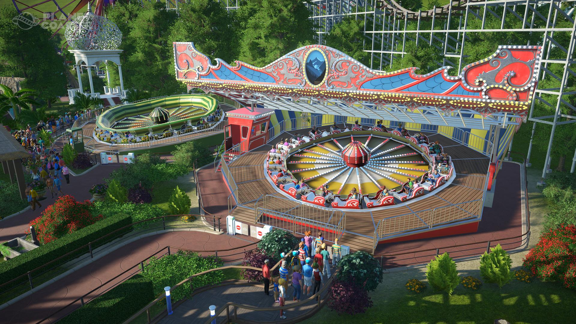 amusement park dating sim