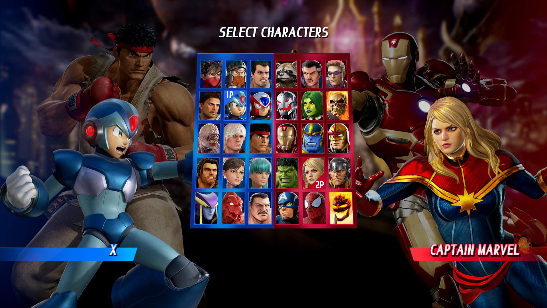 Personajes De Marvel: Marvel Vs. Capcom: Infinite On Steam