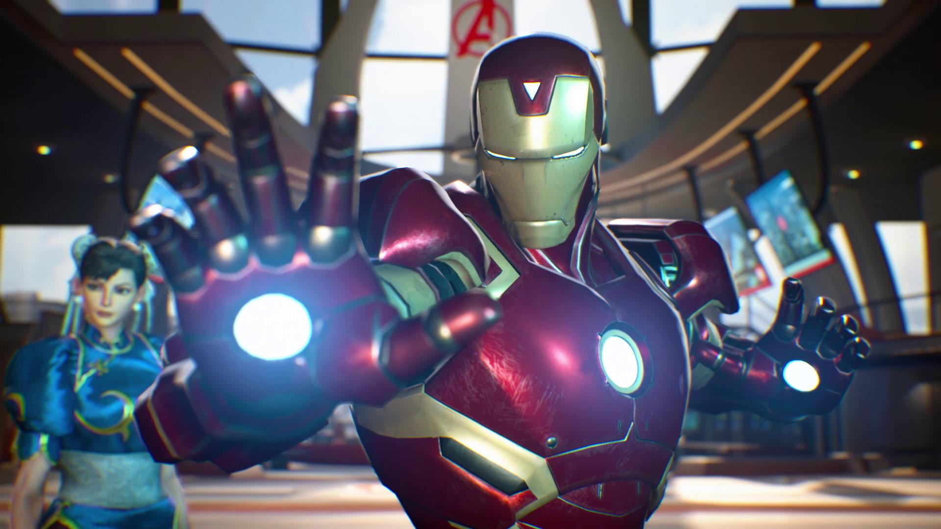 Скриншот игры Marvel vs. Capcom Infinite