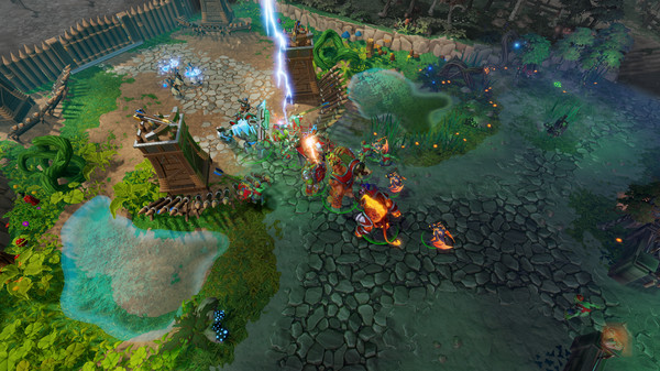 Screenshot of Dungeons 3