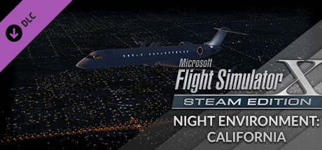 FSX Steam Edition: Night Environment: California Add-On