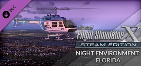 FSX Steam Edition: Night Environment: Florida Add-On
