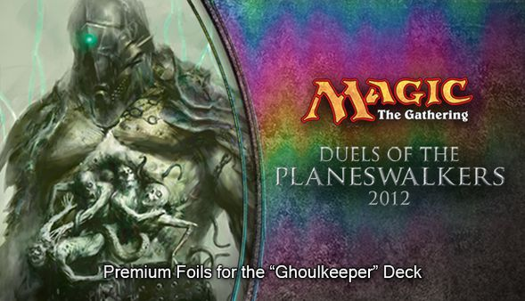 "Magic 2012 Foil Conversion ""Ghoulkeeper""  (DLC)"