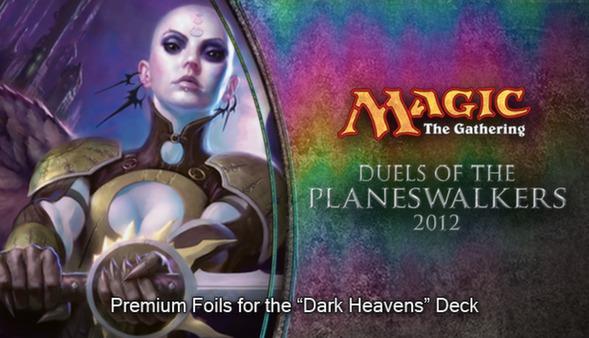 "Magic 2012 Foil Conversion ""Dark Heavens"" (DLC)"