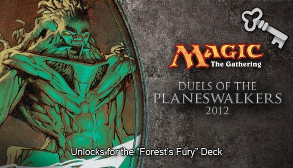 "Magic 2012 Full Deck ""Forest's Fury""  (DLC)"