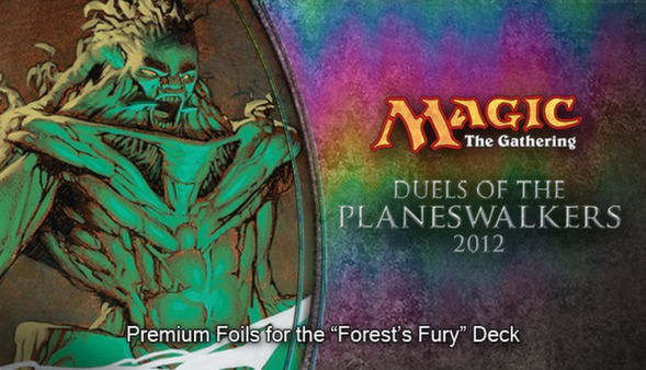 "Magic 2012 Foil Conversion ""Forest's Fury"""
