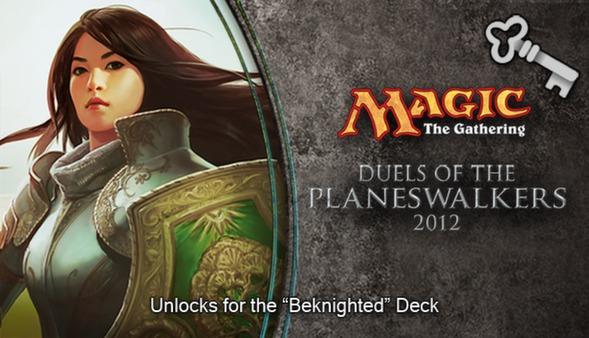 "Magic 2012 Full Deck ""Beknighted""   (DLC)"