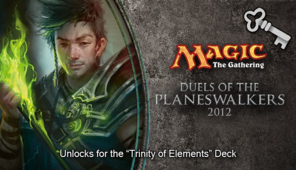 "Magic 2012 Full Deck ""Trinity of Elements""  (DLC)"
