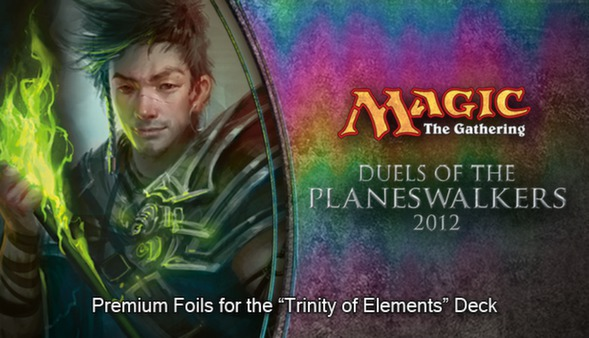 "Magic 2012 Foil Conversion ""Trinity of Elements"""