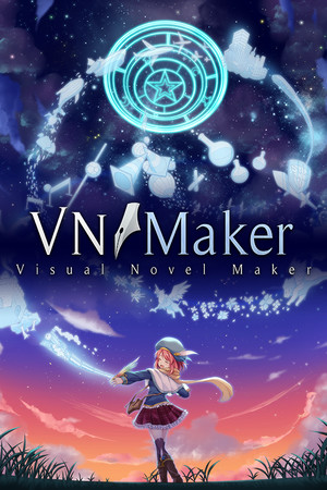 Visual Novel Maker poster image on Steam Backlog