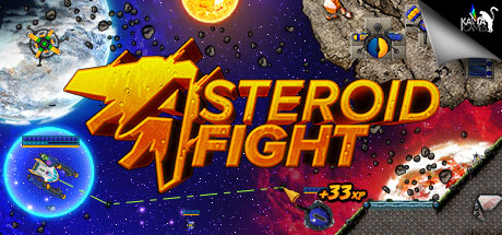 Game Banner Asteroid Fight