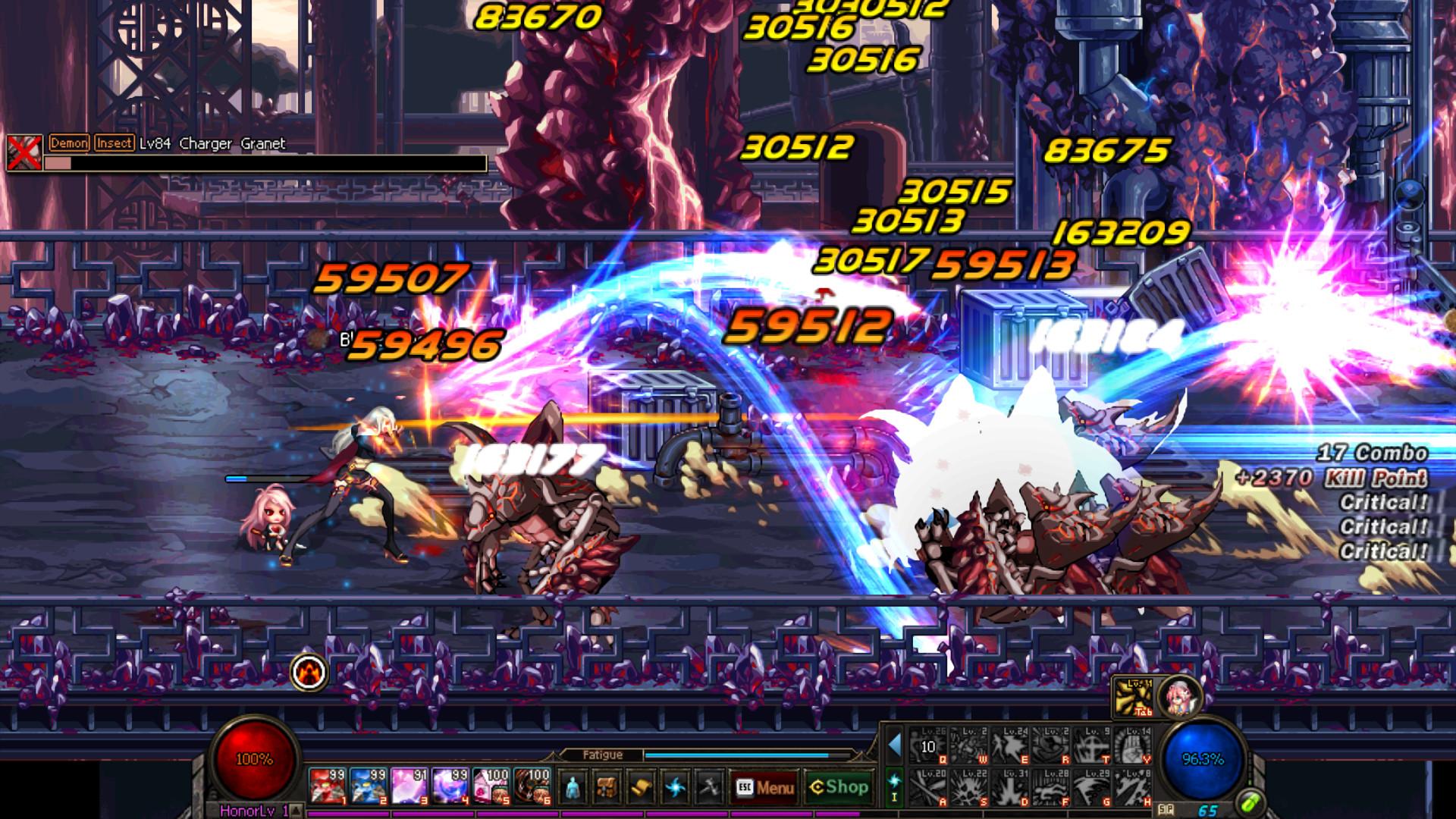 Dungeon Fighter Online Size