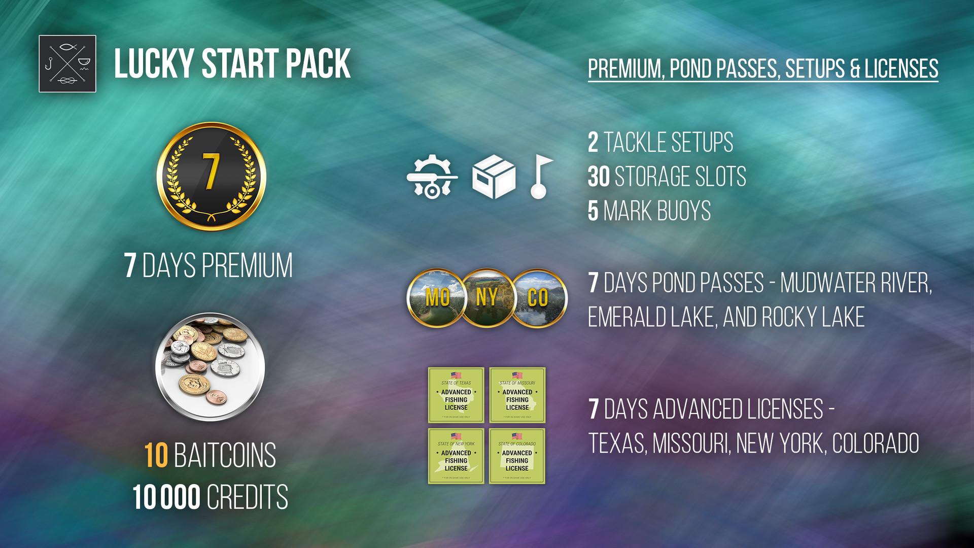 Fishing Planet: Lucky Start Pack