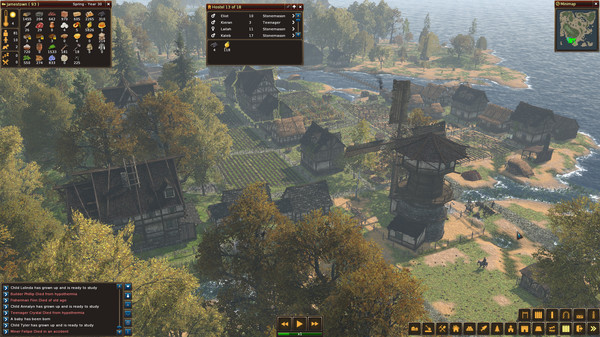 Life is feudal forest village p 3dm 2017 pc life is feudal mmo игра