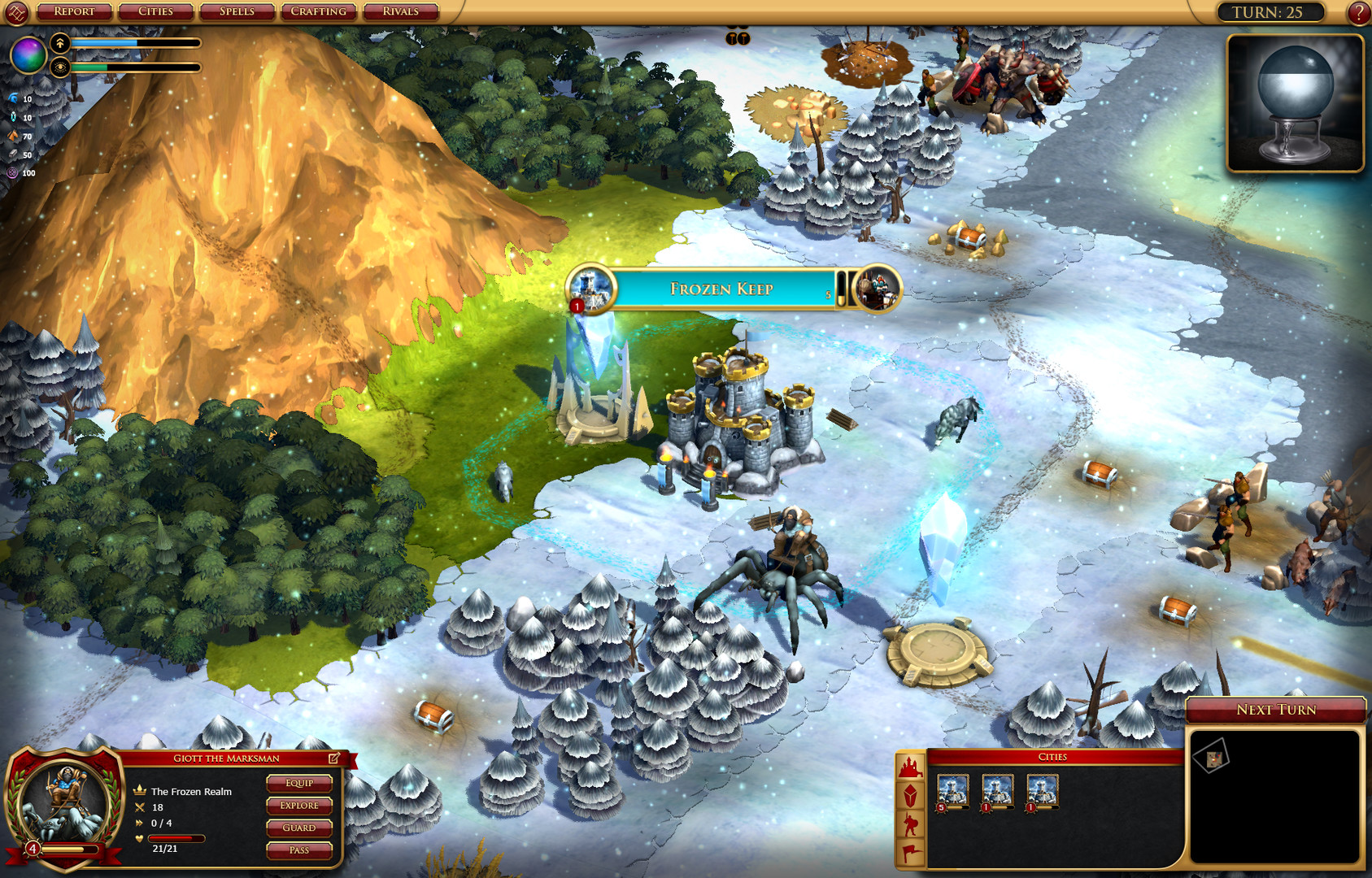 Sorcerer King: Rivals Screenshot 2