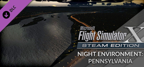 FSX Steam Edition: Night Environment: Pennsylvania Add-On