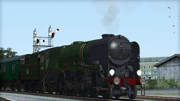 скриншот Train Simulator: Rebuilt Bulleid Light Pacific Steam Loco Add-On 0