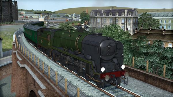 скриншот Train Simulator: Rebuilt Bulleid Light Pacific Steam Loco Add-On 3