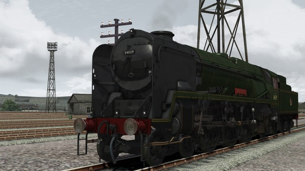 скриншот Train Simulator: Rebuilt Bulleid Light Pacific Steam Loco Add-On 4
