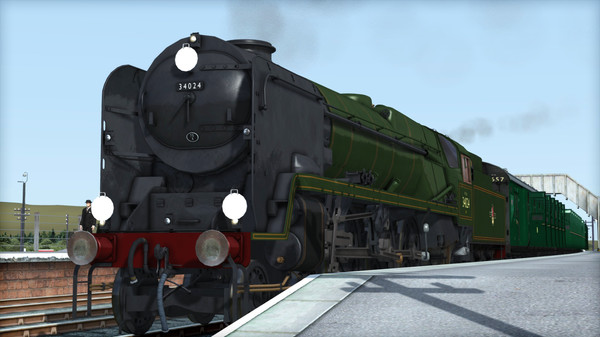 скриншот Train Simulator: Rebuilt Bulleid Light Pacific Steam Loco Add-On 1