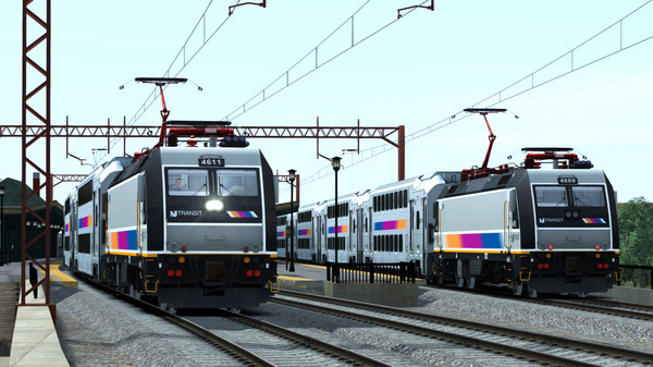 скриншот Train Simulator: North Jersey Coast & Morristown Lines Route Add-On 2