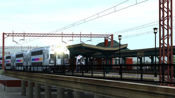 скриншот Train Simulator: North Jersey Coast & Morristown Lines Route Add-On 1