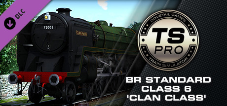 Train Simulator: BR Standard Class 6 'Clan Class' Steam Loco Add-On