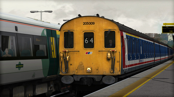 скриншот Train Simulator: Network Southeast Class 205 'Thumper' DEMU Add-On 4
