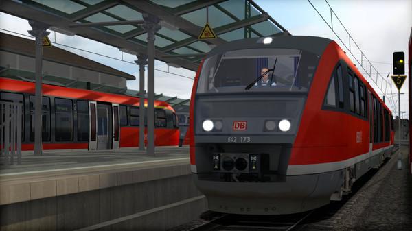 скриншот Train Simulator: DB BR 642 DMU Add-On 1