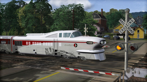 скриншот Train Simulator: Aerotrain Streamlined Train Add-On 2