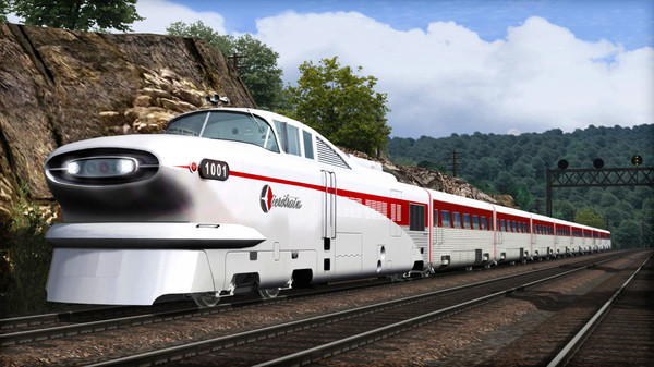 скриншот Train Simulator: Aerotrain Streamlined Train Add-On 5