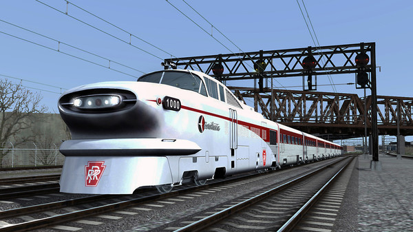 скриншот Train Simulator: Aerotrain Streamlined Train Add-On 0