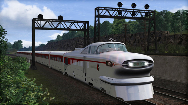скриншот Train Simulator: Aerotrain Streamlined Train Add-On 1