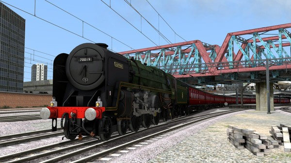 скриншот Train Simulator: BR Standard Class 7 'Britannia Class' Steam Loco Add-On 0