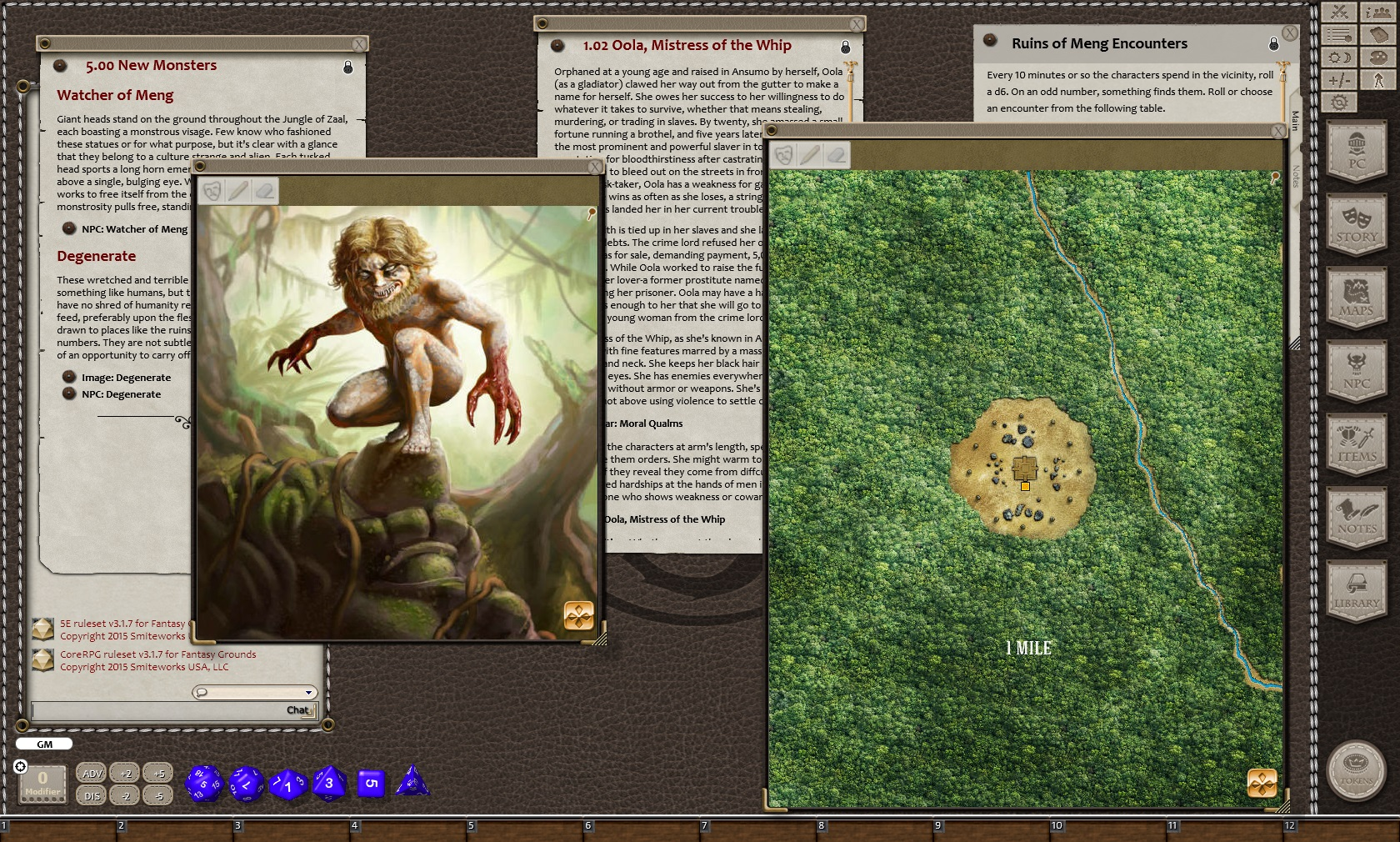 Fantasy Grounds - Primeval Thule: Watchers of Meng (5E) Steam Discovery