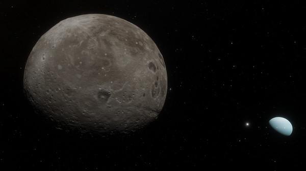 SpaceEngine - Uranus System HD (DLC)