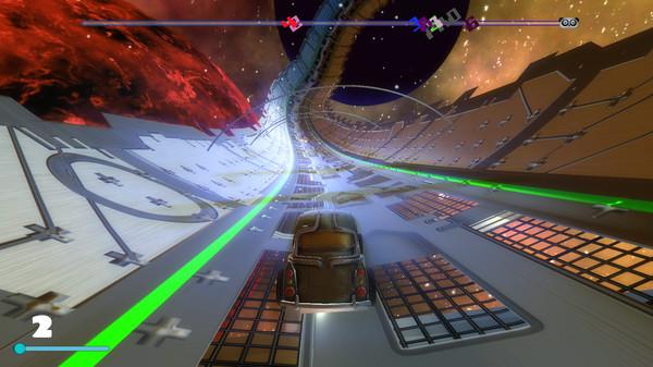 Скриншот из Space Ribbon