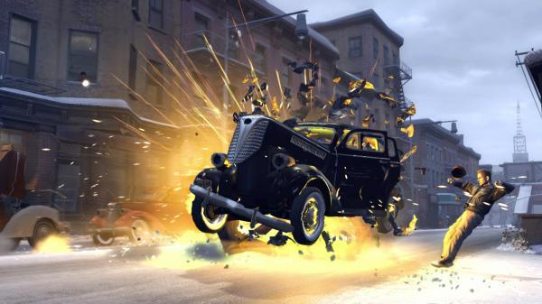 скриншот Mafia II 0