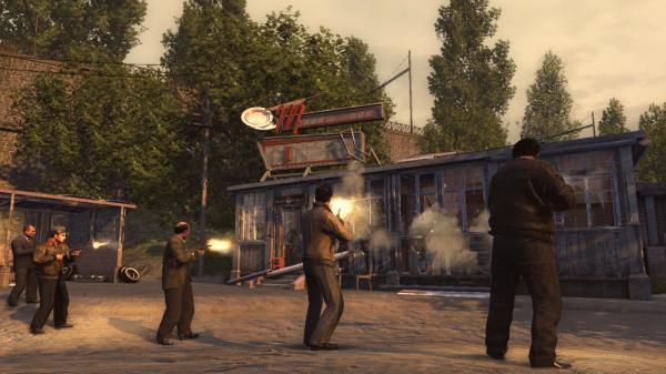 скриншот Mafia II 15