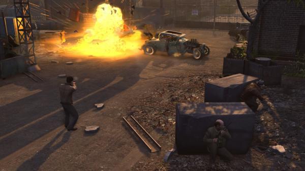 скриншот Mafia II 14
