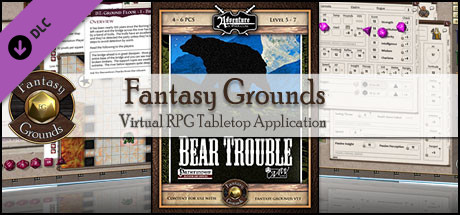 Fantasy Grounds - A06: Bear Trouble (PFRPG)