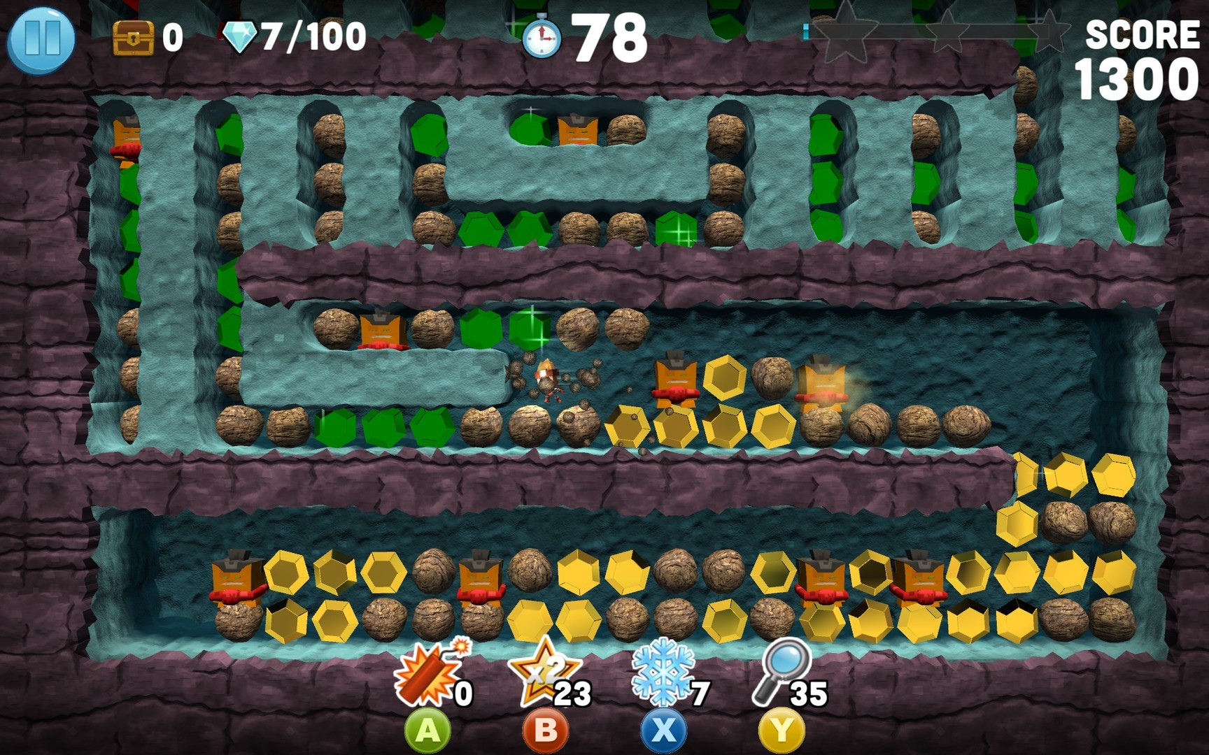 Boulder Dash - 30th Anniversary Screenshot 3