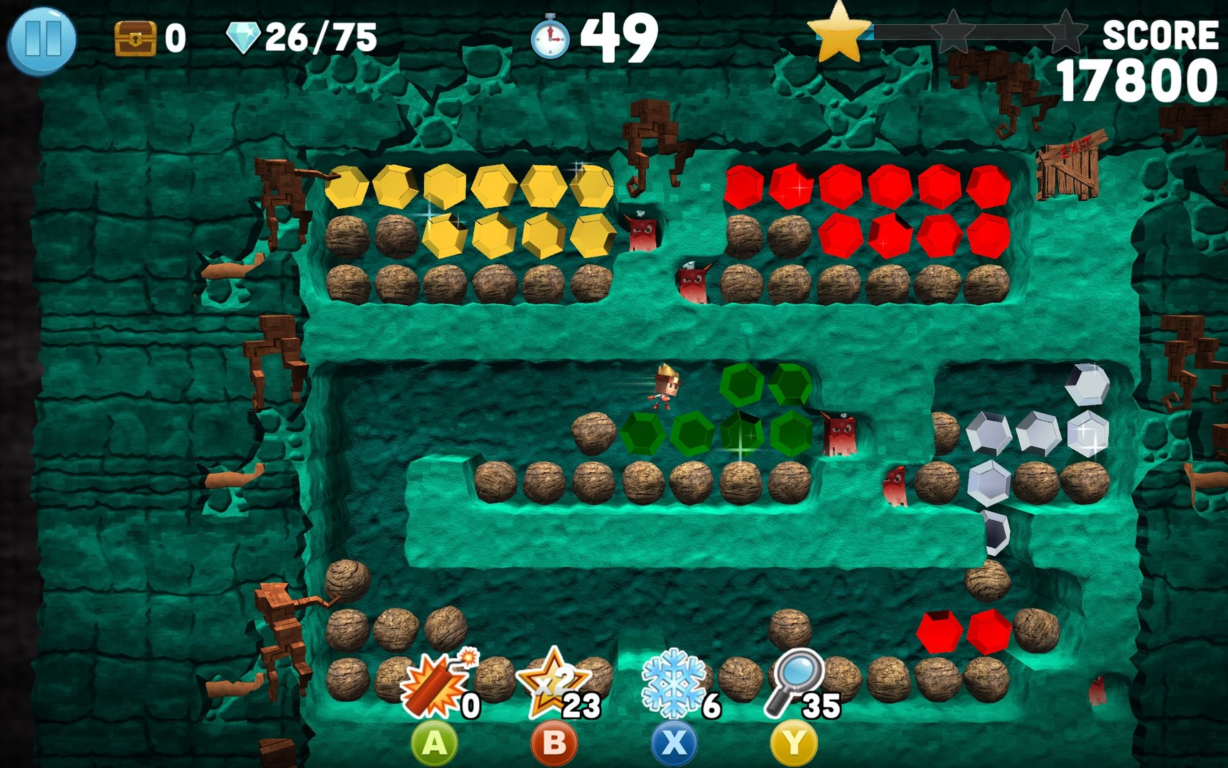 Boulder Dash - 30th Anniversary Screenshot 1