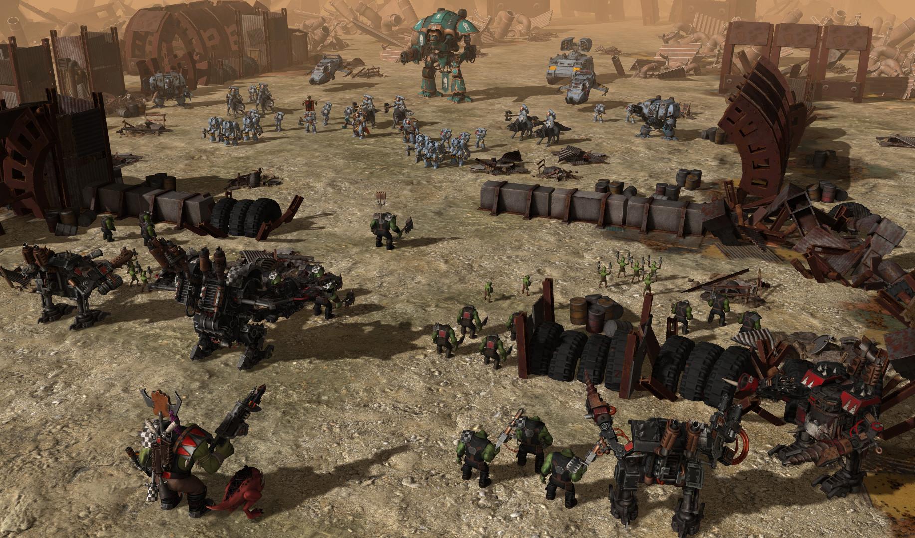 Warhammer 40 000 sanctus reach рецензия 8085
